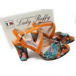 Lady Raffy Calzaturificio a Noventa Padovana (PD) _ art.876 Arancio