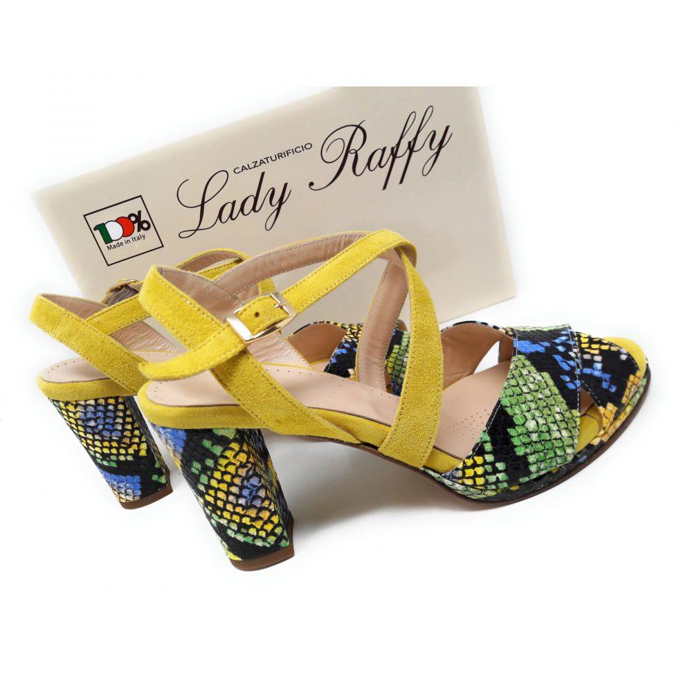 Lady Raffy Calzaturificio a Noventa Padovana (PD) _ art.876 giallo